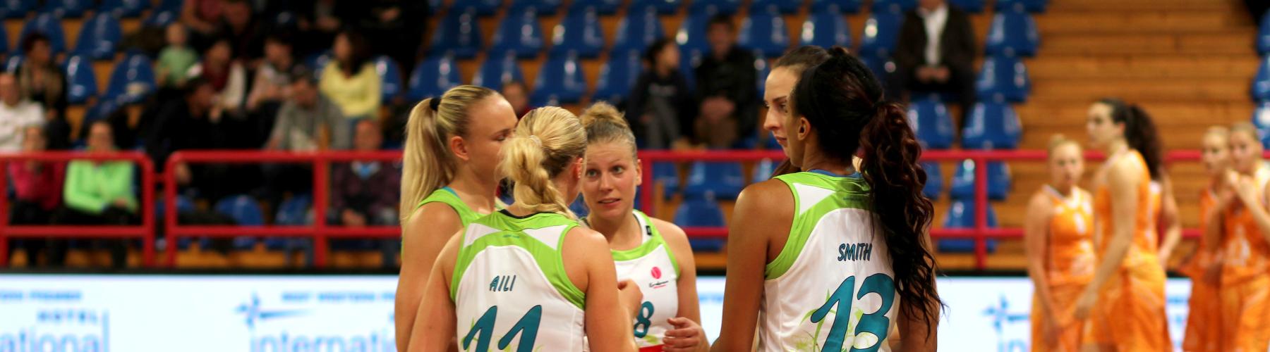 BK IMOS Brno - účastník Euroligy a Ženské basketbalové ligy